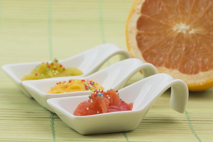 Grapefruit puree