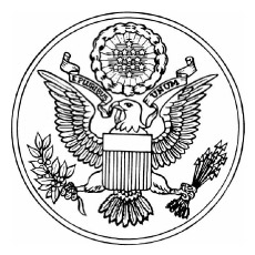 Great Seal of USA Coloring Pages