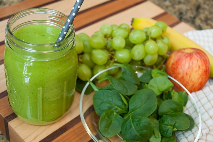 Green Grape Smoothie Recipe For Kids With Pictures
