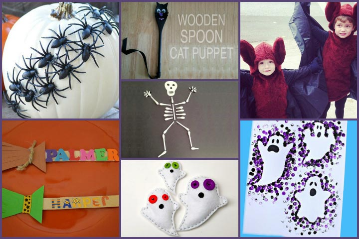 Halloween Crafts For Toddlers