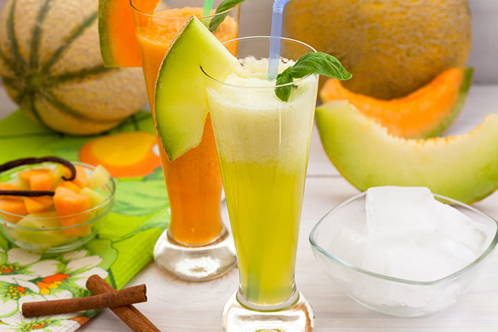 Honeydew Melon Cucumber Smoothie For Kids With Pictures