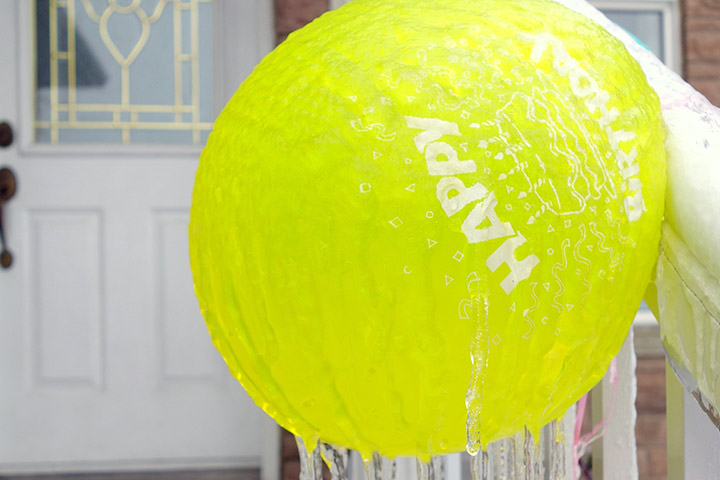 Ice Balloons - water balloon games for kids party Pictures