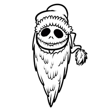Top 25 'Nightmare Before Christmas' Coloring Pages for Your Little ...