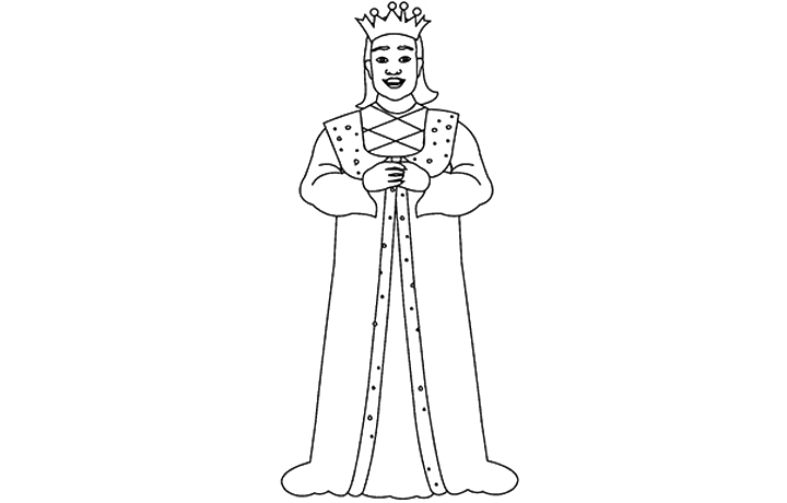 K Is For King Coloring Page Letter K Coloring Page