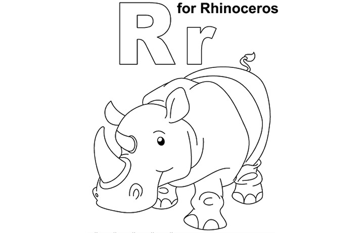 Geography Blog: Letter R Coloring Pages