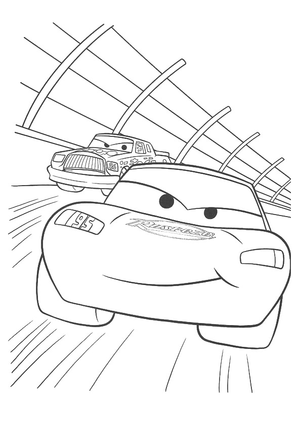 Lightning-McQueen-racing