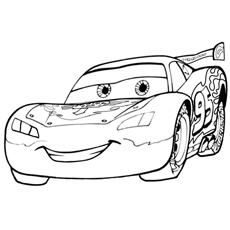 graphic regarding Lightning Mcqueen Coloring Pages Printable named Final 25 Lightning McQueen Coloring Website page For Your Little one