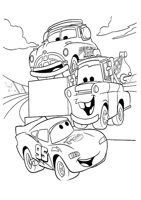 Lightning-McQueen-talking-with-friends