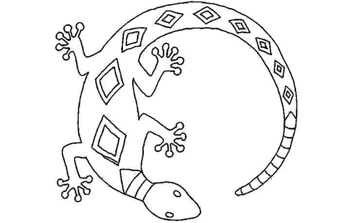 Colour By Number Reptiles: Coloriage coloriages magiques ...