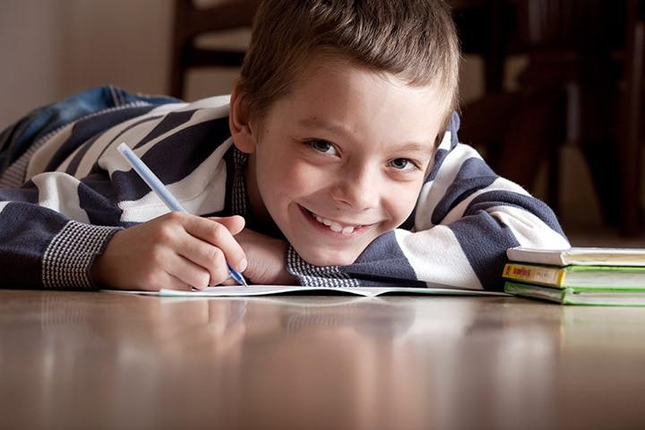 Fun Activities For Kids - Make A Writer's Den