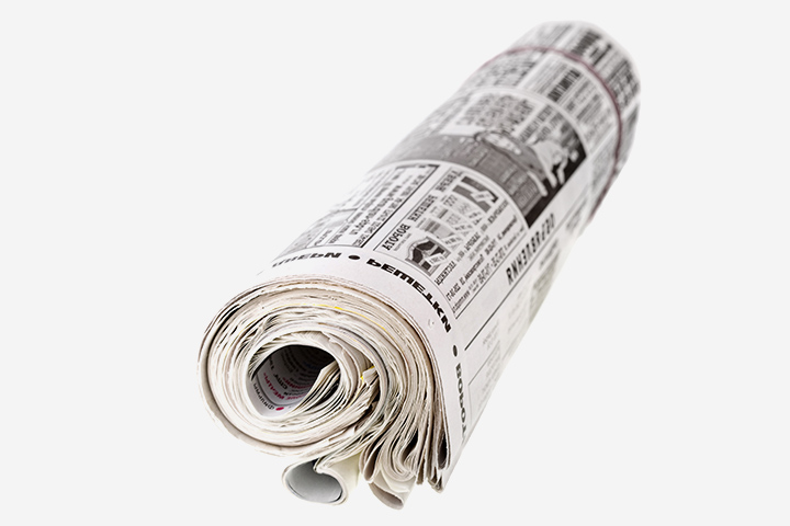 Fun Activities For Kids - Newspaper Golf