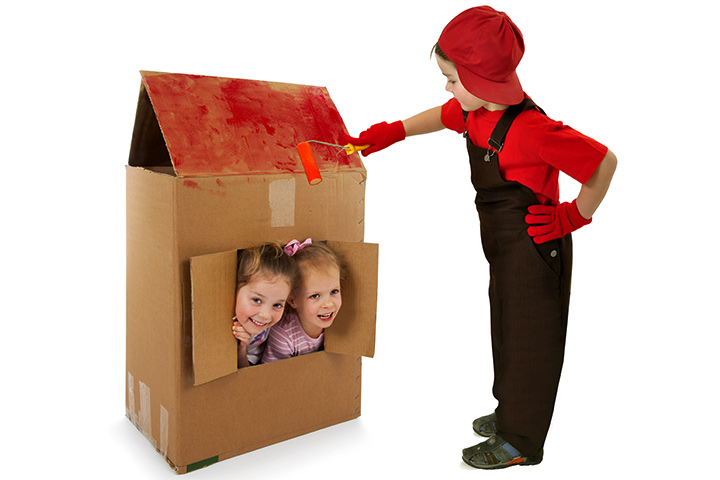 Fun Activities For Kids - Packing Boxes