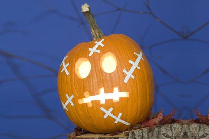 Pumpkin In Stitches