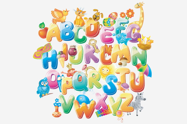 Fun Activities For Kids - Remember The Alphabets