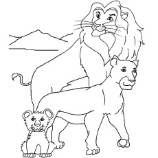 Royal Family Coloring Pages