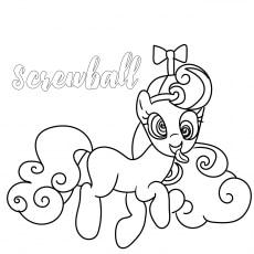 Coloring of Screwball