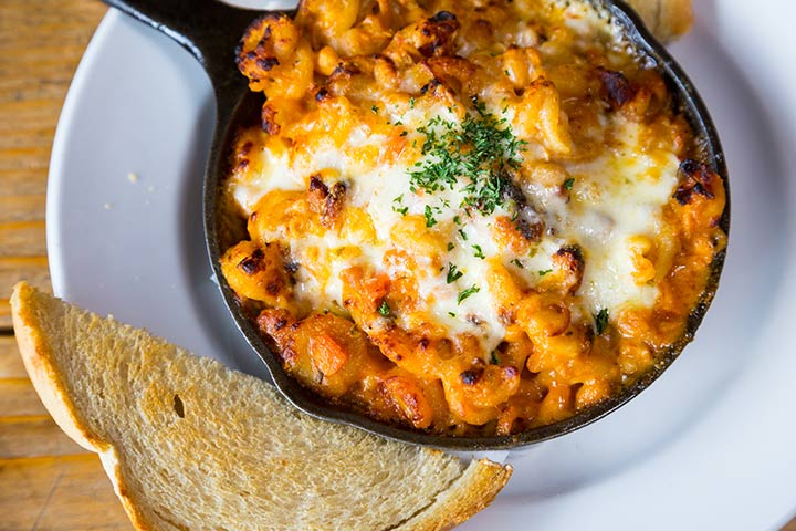 Skillet cheeseburger mac and cheese