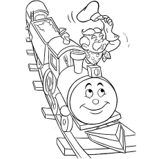 Smiling-Toy-Train
