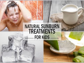 4 Effective Natural Remedies To Soothe Sunburns In Kids
