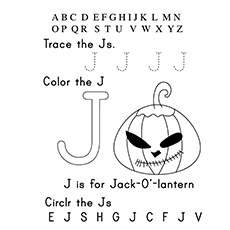 The 'J' For Jack O'