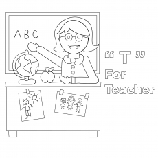 The 'T' For Teacher
