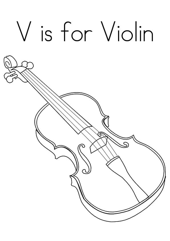 The-'V'-For-Violin