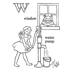 The-'W'-For-Window-And-Water-Pump