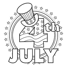 Top 35 Free Printable 4th Of July Coloring Pages Online