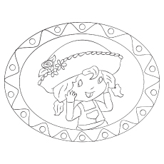 The-Angel-Cake coloring pages