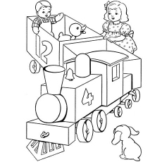 The-Babies-On-A-Train