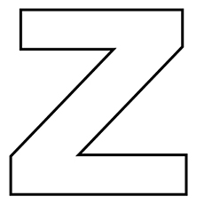 Top 12 Free Printable Letter Z Coloring Pages Online