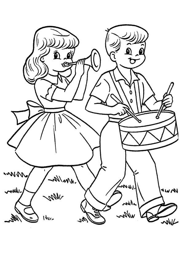 The-Boy-And-Girl-Playing-Instruments