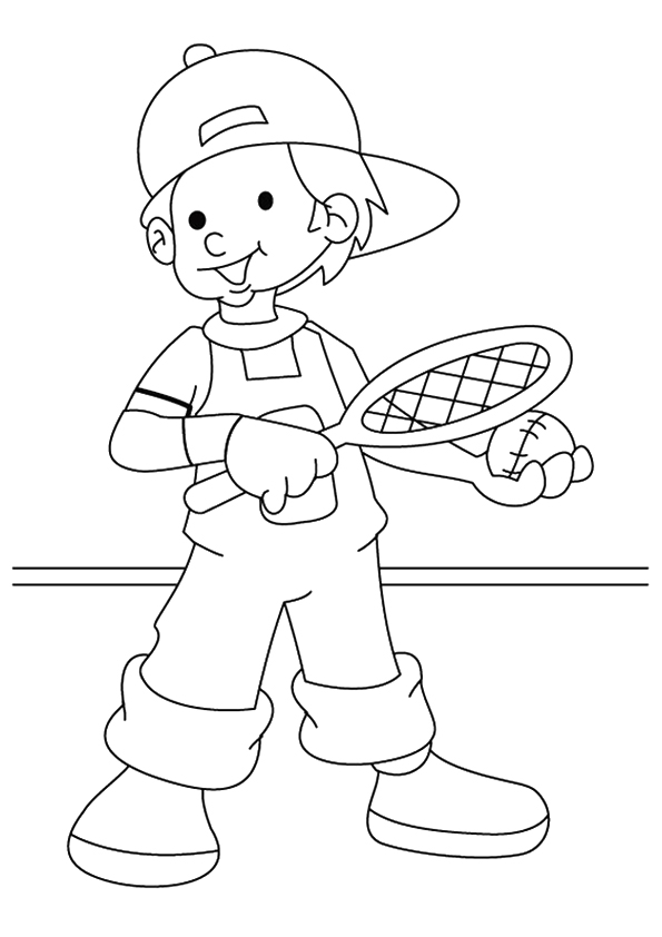 The-Boy-Playing-Tennis
