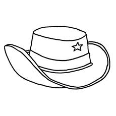 40 Best Cowboy Embroidery images | Cowboy boots drawing ... |Small Cowboy Hat Coloring Page