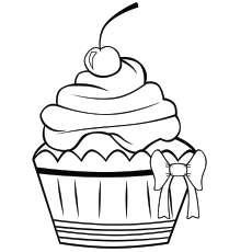 Cupcake Pic to Color