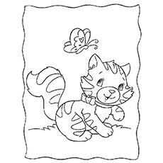 Free Printable Cute Custard Coloring Pages