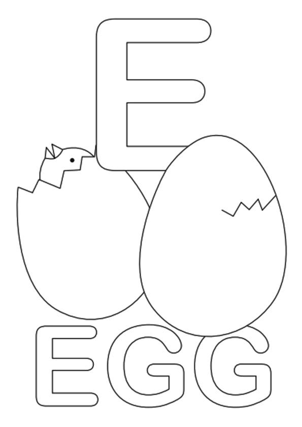 The-E-For-Egg