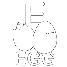 The-E-For-Egg
