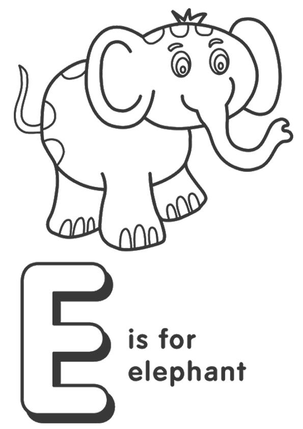 The-E-For-Elephant
