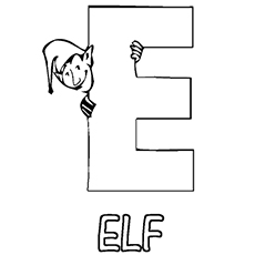 the e for elf