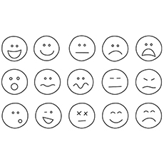 free printable emotions fighting emotions coloring pages