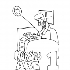 The Friendly Female Nurses