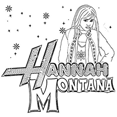 The Hannah Montana Spelling