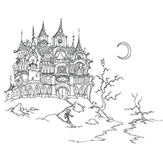 Haunted House Image to Color