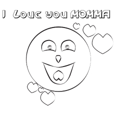 The-I-Love-You-Mamma coloring pages