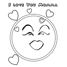 top free printable emotions coloring pages onlinehappy face middot i love you mamma emotion of love - Emotions Coloring Pages Printable