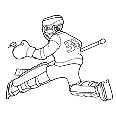 The-Intense-Hockey-Player