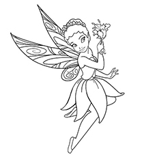 Iridessa Coloring Pages Of Tinkerbell