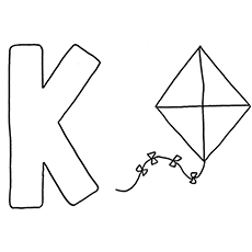 Top 10 Letter K Coloring Pages Your Toddler Will Love To Learn Color