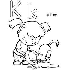 The K For Kitten